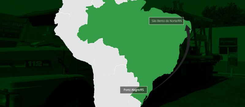 15 carretas partem rumo ao Rio Grande do Norte